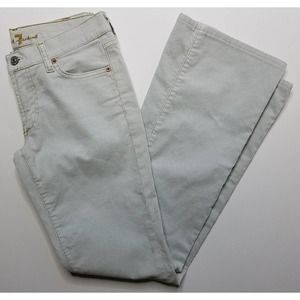 7FAM Light Blue Corduroy Jeans